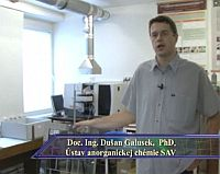 doc. Ing. Dušan Galušek, PhD.
