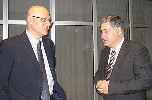 prof. RNDr. Vladimír Bužek, DrSc. a prof. RNDr. Ján Turňa, CSc.