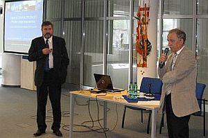 prof. Ing. František Janíček, PhD. a Ing. Oleg Cvik