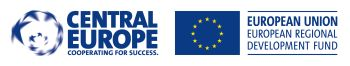Logo Central Europe a European Union