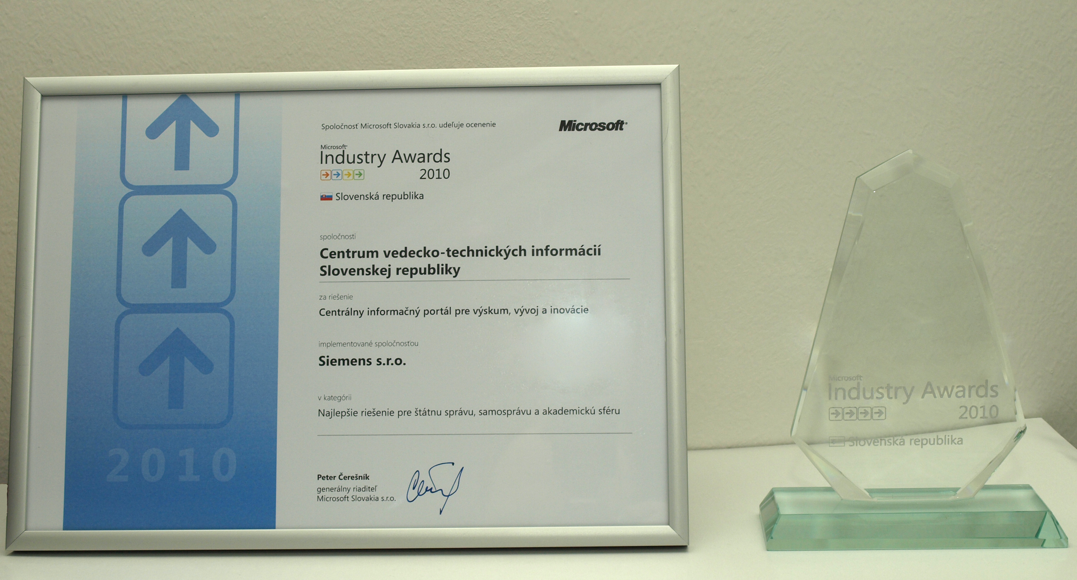 Microsoft Industry Awards