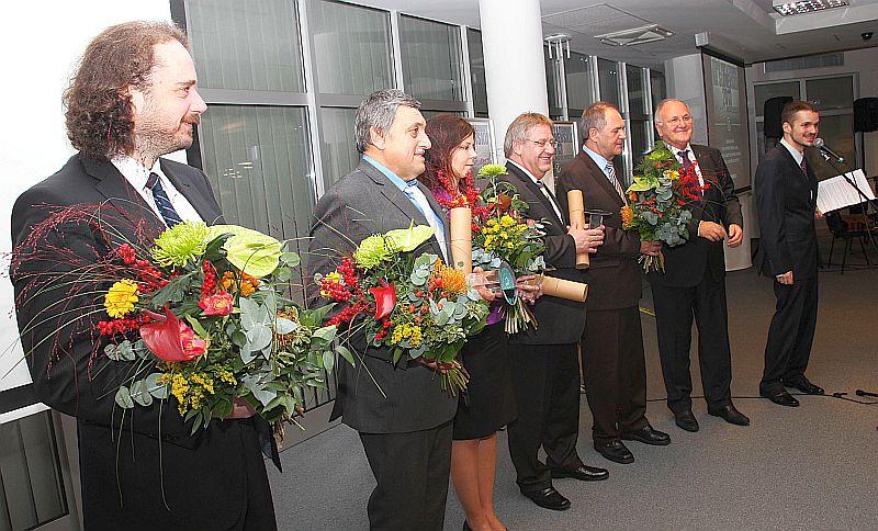 Ocenení Cenou ministra školstva, vedy, výskumu a športu SR v kategórii Vedecko-technický tím roka 2013